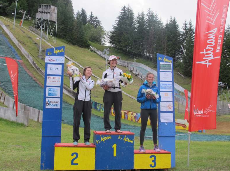Podium Autrans