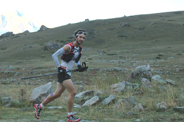 Thibaut Baronian 1er exaequo  du 48 km (photo :  Robert Goin)
