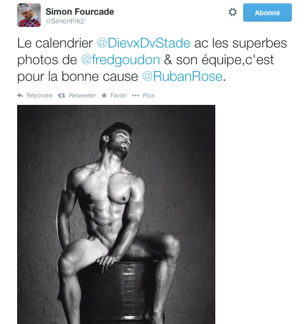 Photo Simon Fourcade Dieux du Stade
