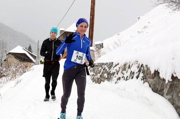 Laetitia Dardanelli, 2e du 22 km (photo : Robert Goin)