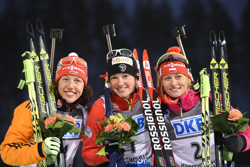 Kontiolathi-podium dames