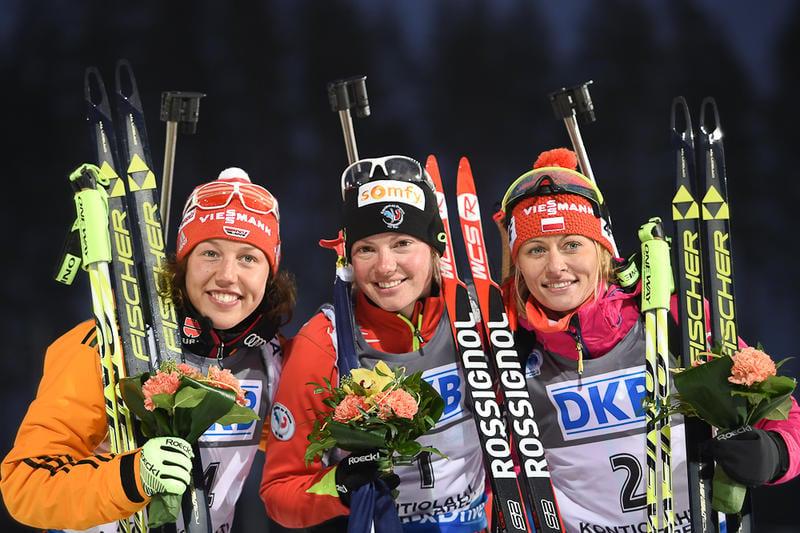 Kontiolathi-podium dames