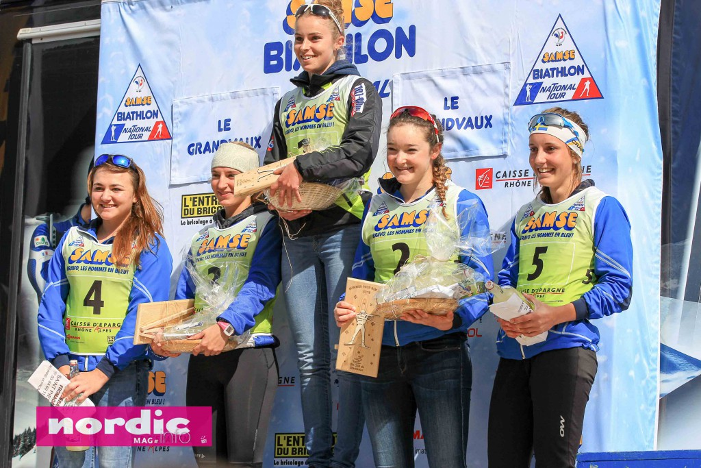 biathlon-podium dames U19