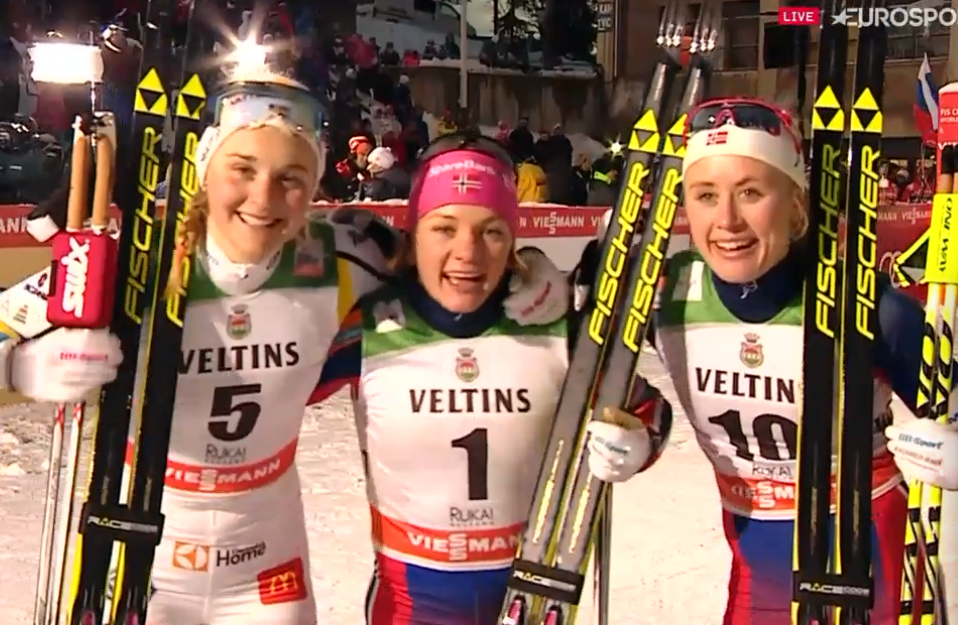 Ruka sprint dames