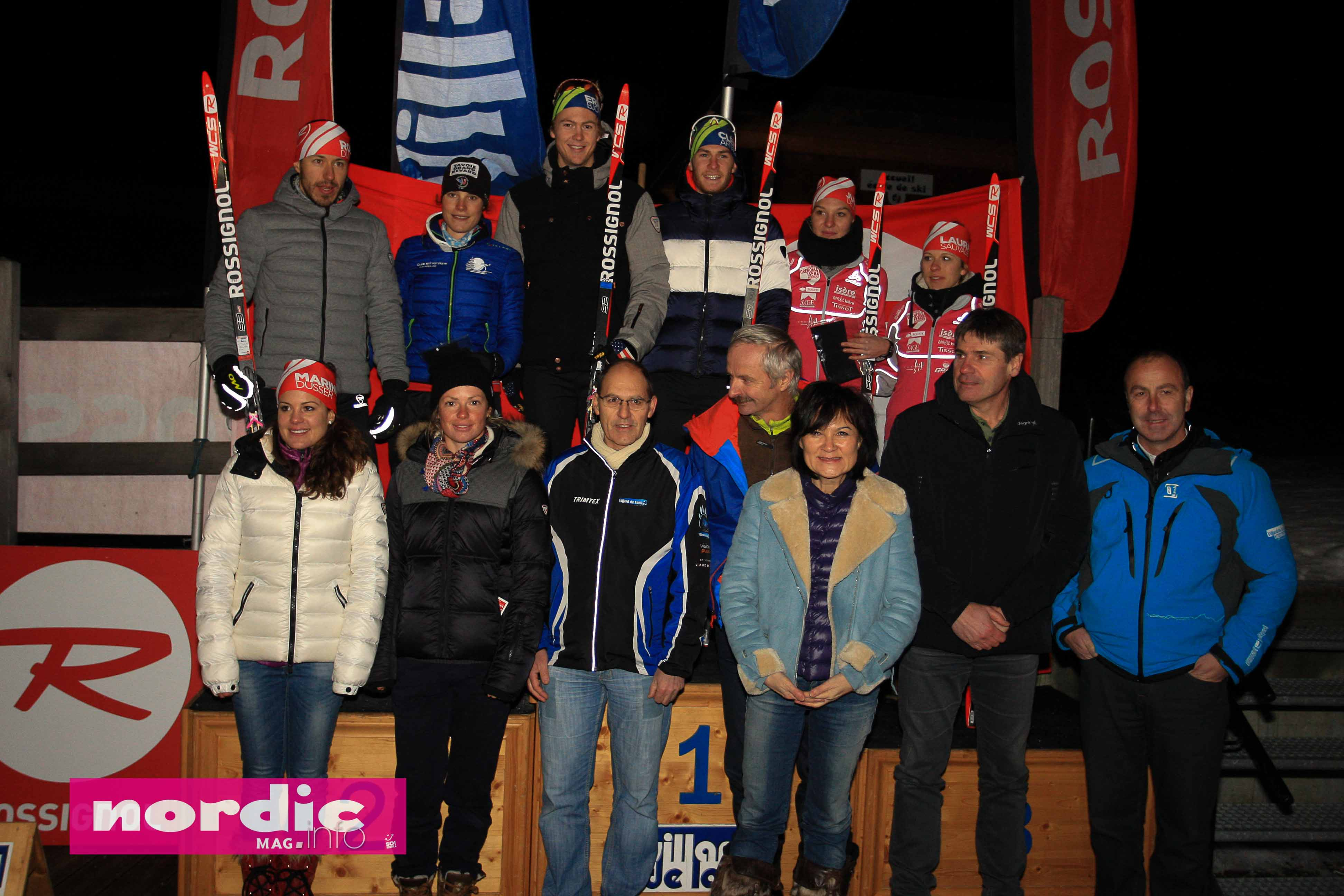 Night race-podium general