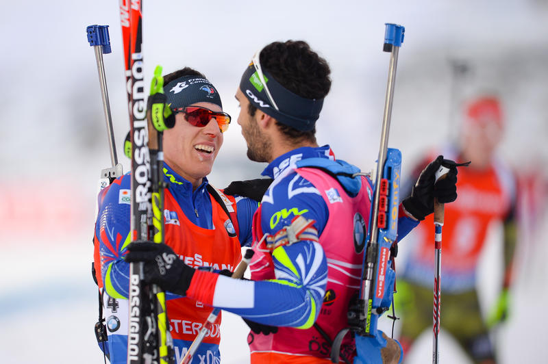 Ostersund-Fourcade Quentin Fillon Maillet
