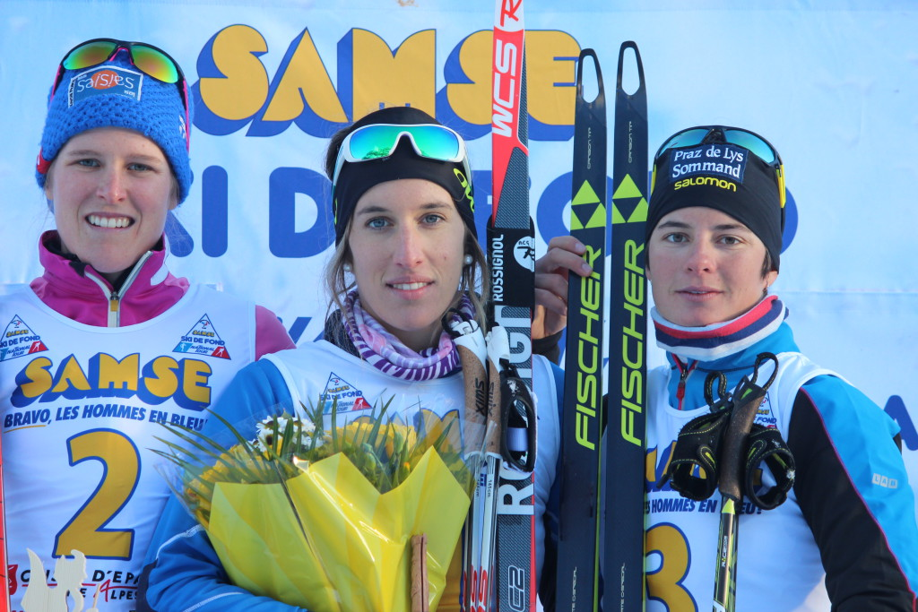 Podium Seniors Dames