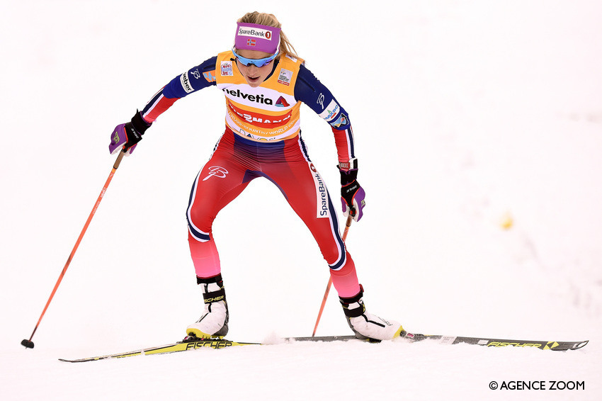 Therese Johaug à Davos (Photo : Vianney Thibaut/Agence Zoom)