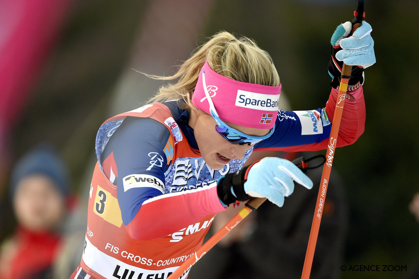 Therese Johaug, le 6 décembre (photo : Vianney Thibaut/Agence Zoom)