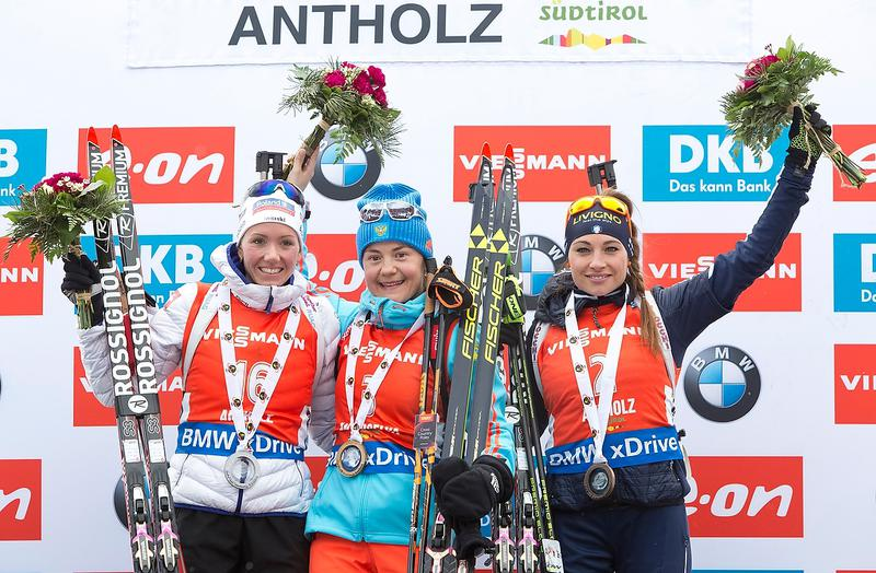 podium Antholz