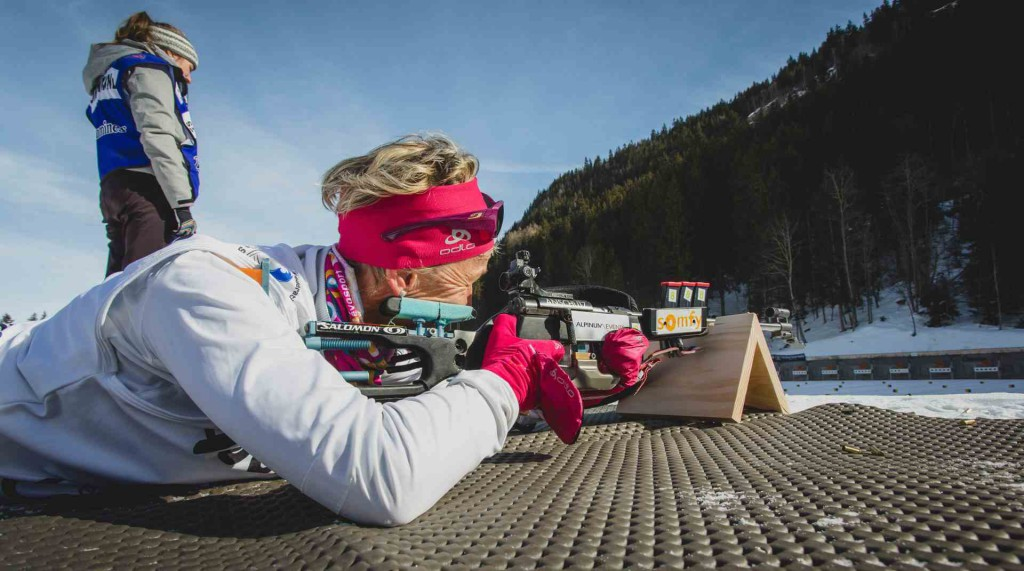 Contamines-Biathlon