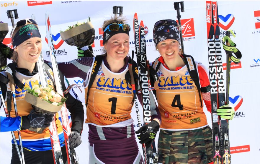 BD-podium dames