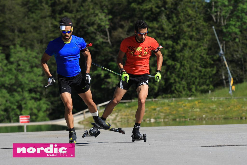 Stage-Martin et Simon Fourcade