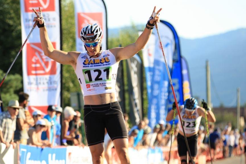 ROLLERSKI - Lors du Martin Fourcade Nordic Festival, Lucas Chanavat a remporté le sprint au cours d'une finale 100% française à Annecy. Jolie 4e place d'Enora Latuillière chez les dames