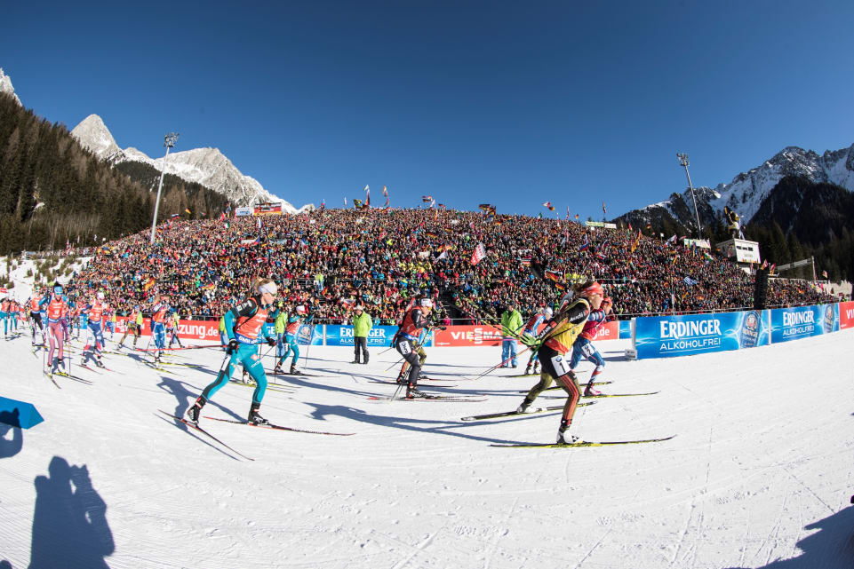une, coupe du monde, Antholz