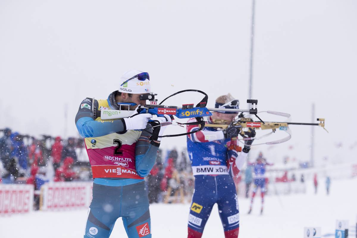 Boe devance Fourcade, Claude s'invite sur le podium