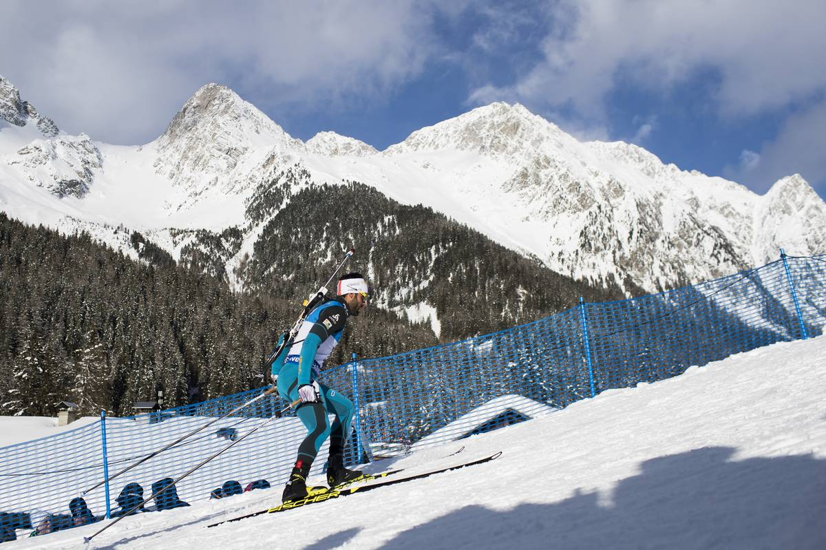 IBU world cup biathlon, sprint men, Antholz (ITA), Biathlon