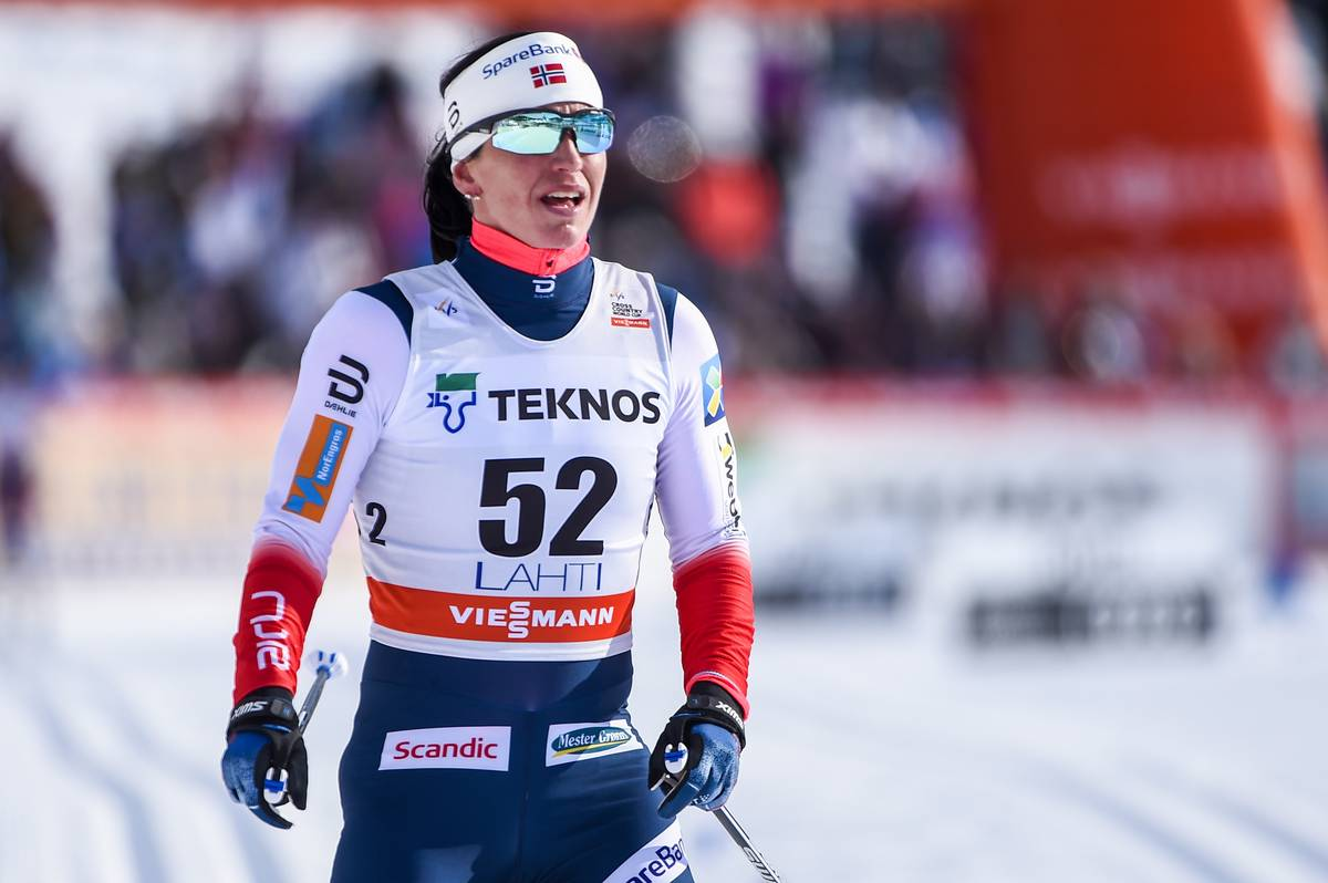 04.03.2018, Lahti, Finland (FIN): Marit Bjoergen (NOR) - FIS world cup cross-country, 10km women, Lahti (FIN). www.nordicfocus.com. © Thibaut/NordicFocus. Every downloaded picture is fee-liable.