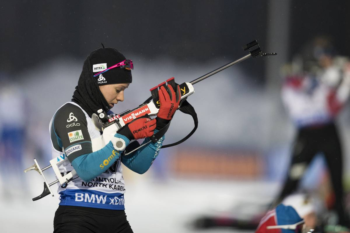 une, coupe du monde, biathlon, relais mixte simple, kontiolahti