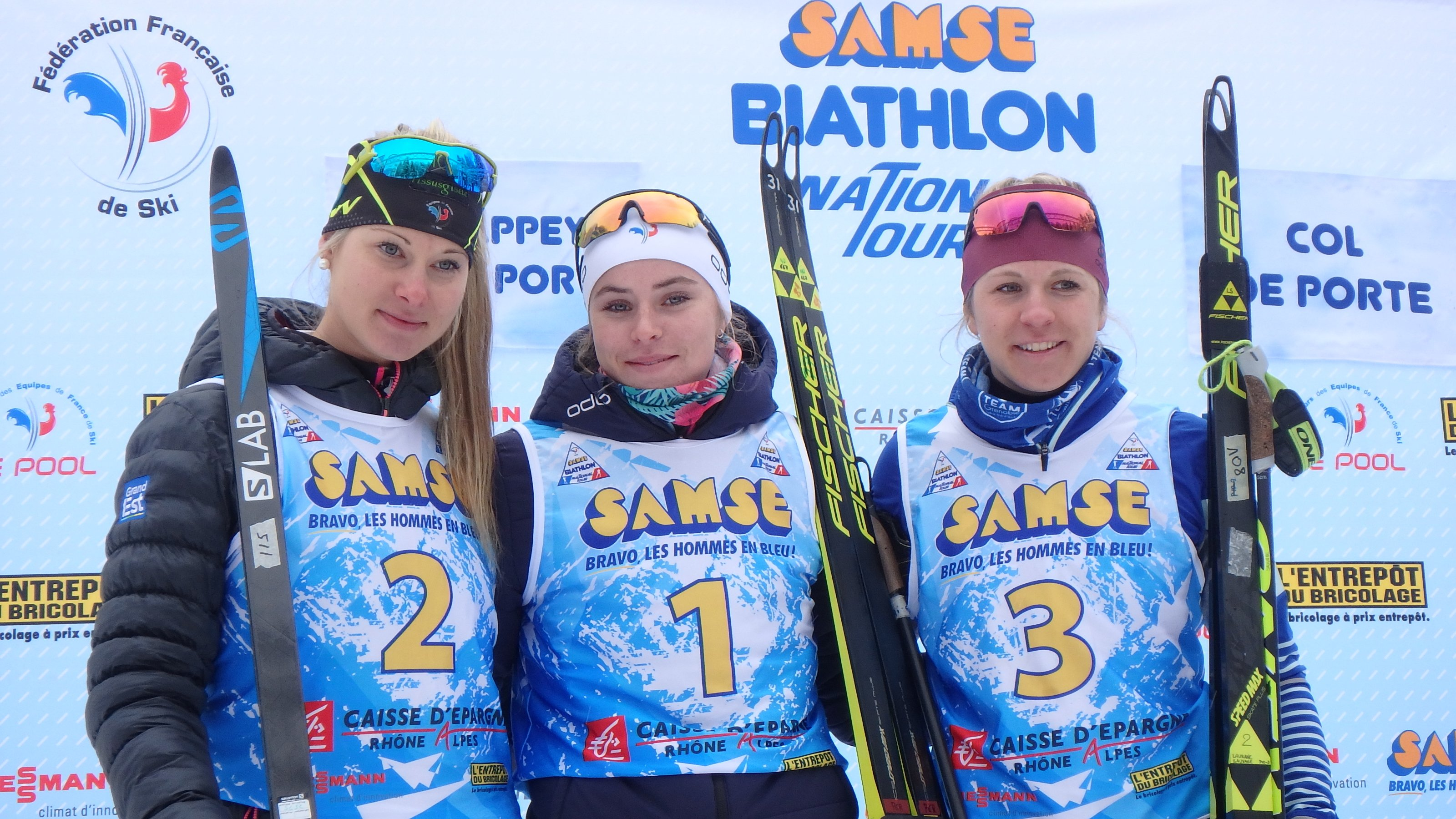 biathlon, Samse, coupe de France, col de porte, poursuite, hiver, sports d'hiver, Nordic Magazine