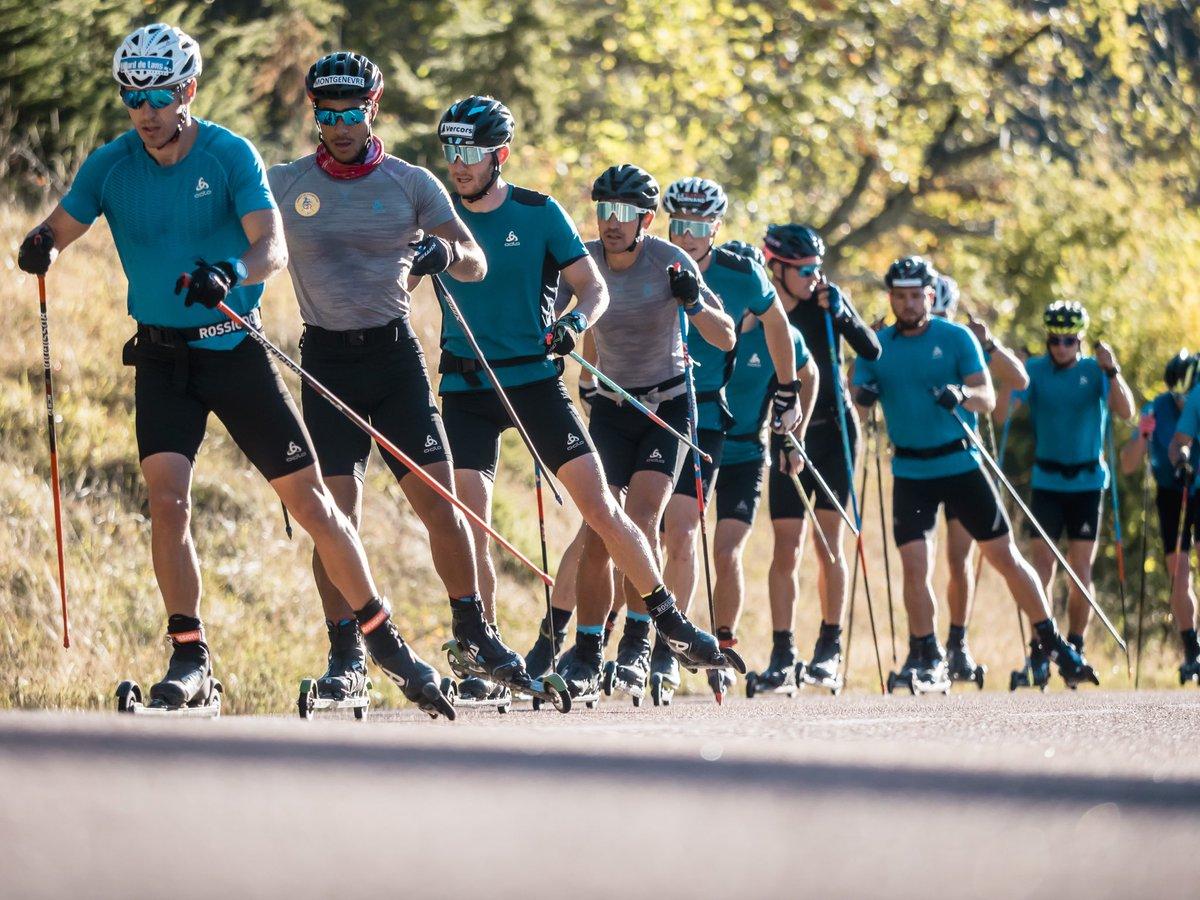 ski de fond, équipe de France, stage, Prémanon, CNSNMM, ski nordique, réseaux sociaux