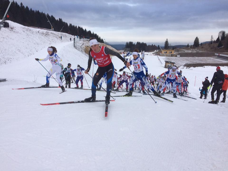SKI DE FOND - La seconde manche du championnats de France de ski de fond U17 se dispute ce week-end à Prémanon. La mass-start a été remportée par Julie Pierrel.