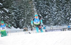 une, biathlon, championnats d'Europe, Aristide Bègue,