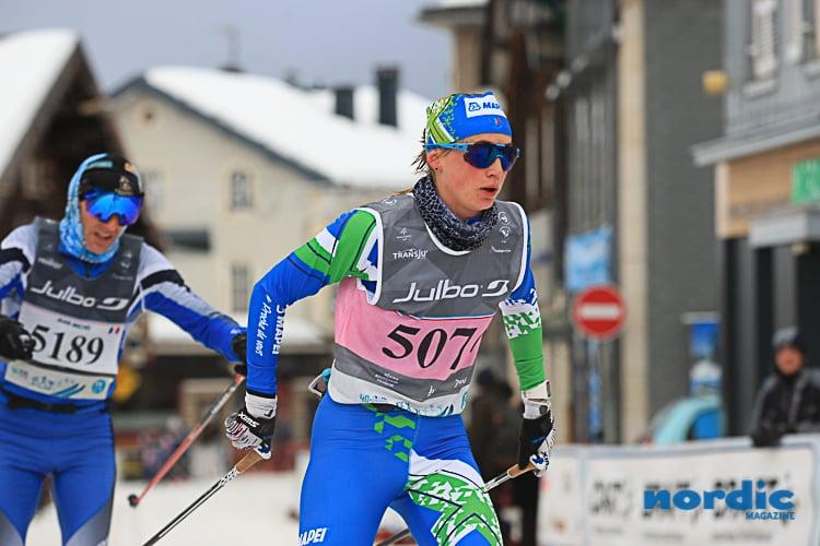 SKI DE FOND - Disputée sur 56 km entre Les Rousses et Mouthe, l'édition 2019 de la Transju'Classic a été remportée ce samedi par Marie Kromer. La fondeuse du E-Liberty Ski a accroché sur cette course mythique un troisième succès consécutif.