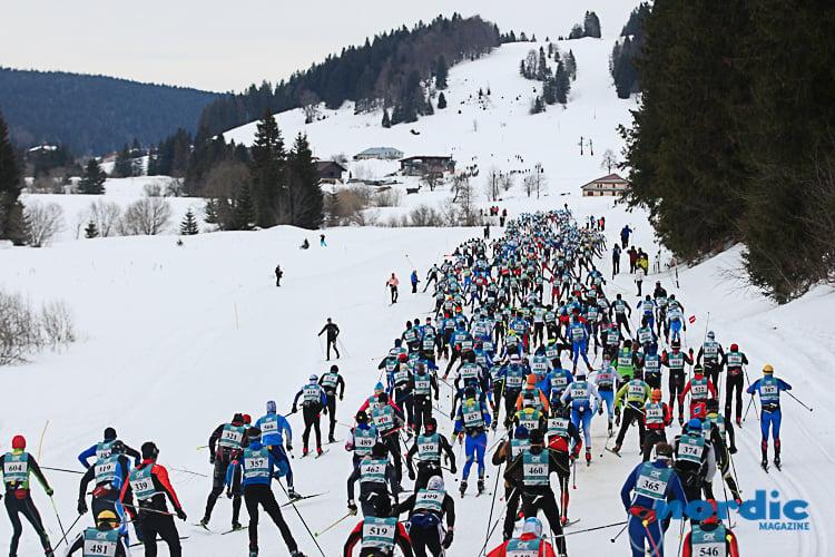 SKI DE FOND - L'édition des 40 ans de la plus grande course de ski de fond en France, La Transjurassienne, a été remportée par Robin Duvillard devant Gérard Agnellet et Benoît Chauvet.