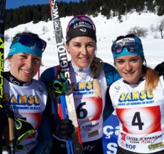 nd, une, ski de fond, coupe de France, Samse national tour, mass-start classique, La Clusaz, Les Confins, Constance Vuillet, Coraline Thomas Hugue, ski de fo