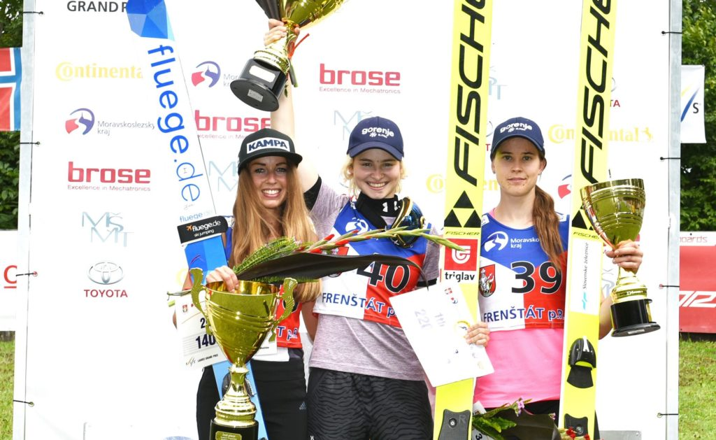 Frenstat, Grand Prix, saut à ski, Juliane Seyfarth, Nika Kriznar