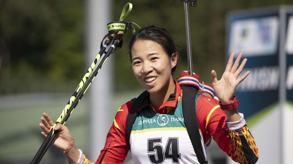 BIATHLON - La Chinoise Yuanmeng Chu a signé un doublé sprint-poursuite juniors lors des mondiaux de biathlon d'été organisés à Minsk alors que Zhang a remporté l'or sur la poursuite.