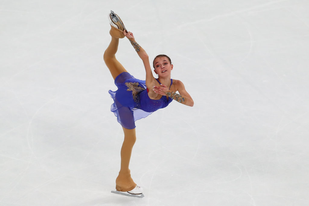 Anna Shcherbakova, patinage artistique, figure skating, Coupe de Chine