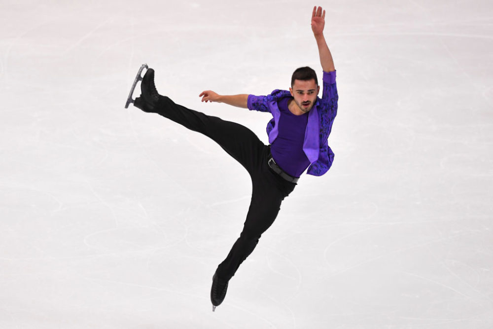Kevin Aymoz, patinage artistique, patinage, Grand Prix, ISU, Sapporo, NHK Trophy
