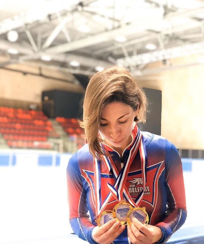 short track, Tifany Huot-Marchand