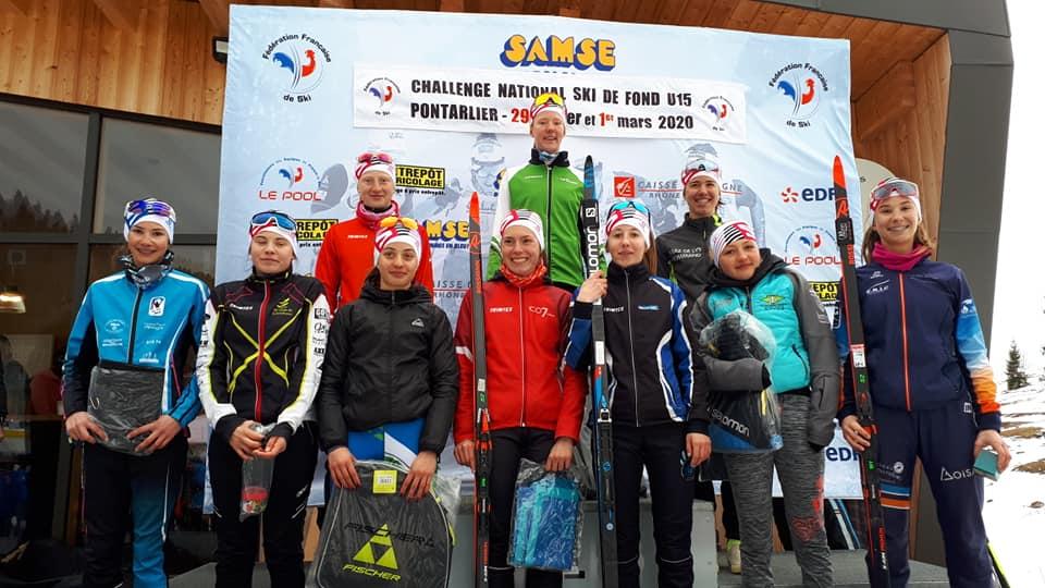 Challenge National ski de Fond U15