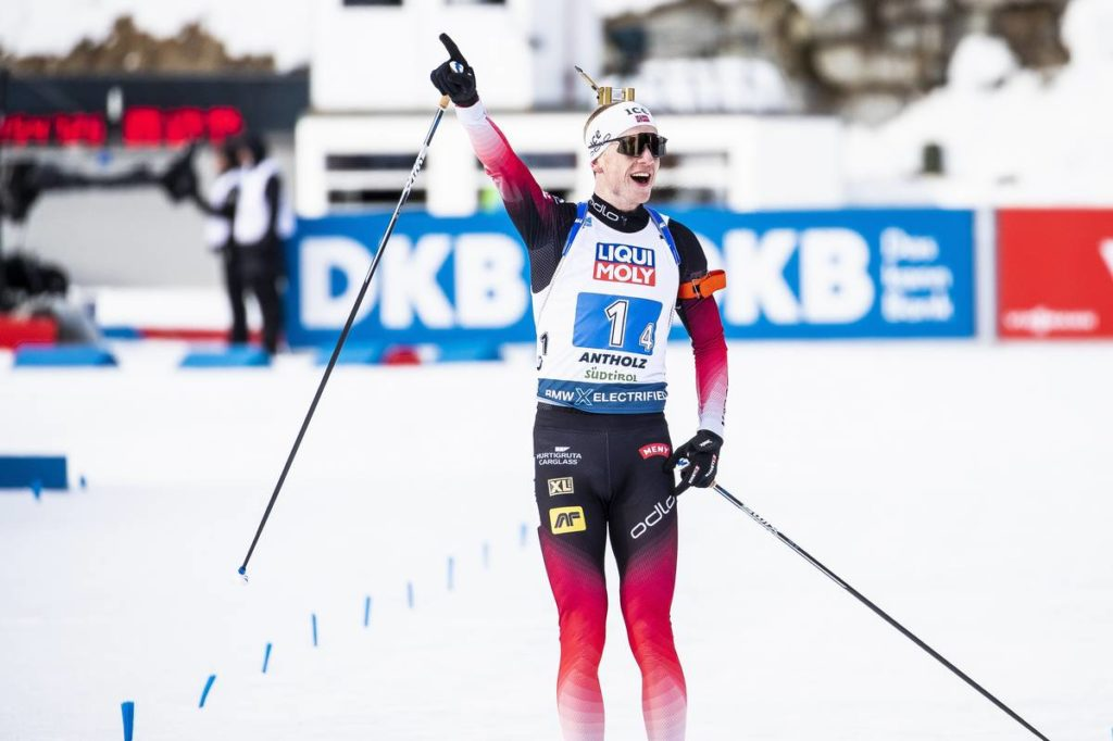 biathlon, Antholz, Johannes Boe