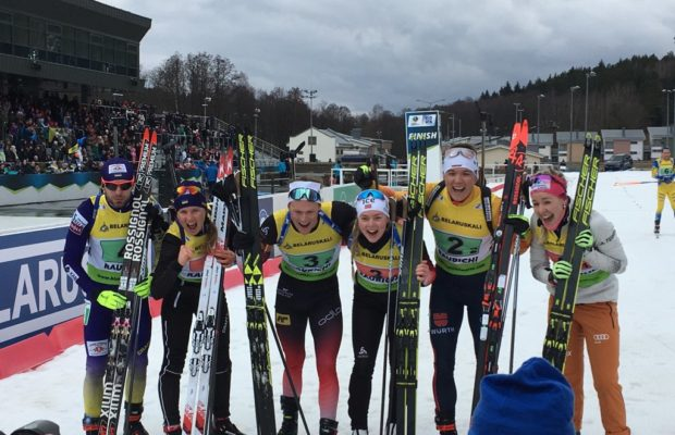 BIATHLON - Après la médaille de Chloé Chevalier sur le super sprint, la France passe au travers du relais simple mixte comptant pour les Championnats d'Europe de biathlon. A Minsk, le titre revient à la Norvège . Le podium est complété par l'Allemagne et l'Ukraine.