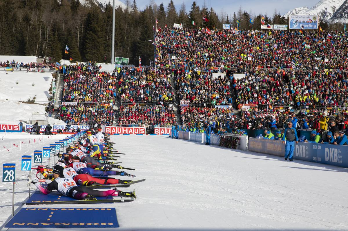biathlon, Antholz