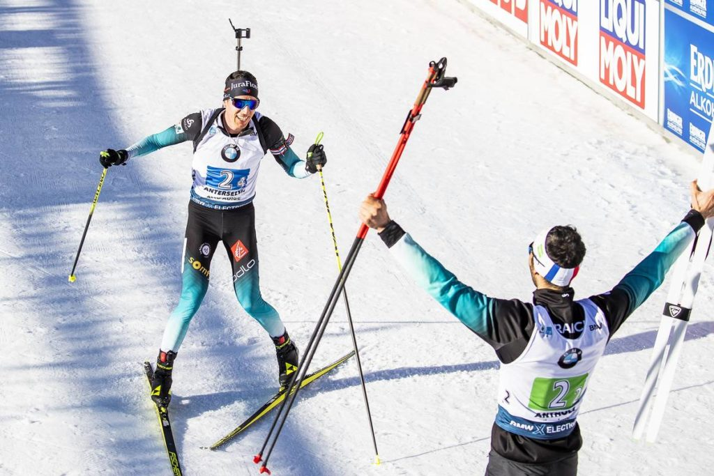 biathlon, Antholz, Fillon-Maillet, Fourcade