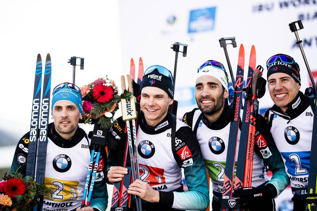 biathlon, Antholz, Fillon-Maillet, Jacquelin, Fourcade, Desthieux