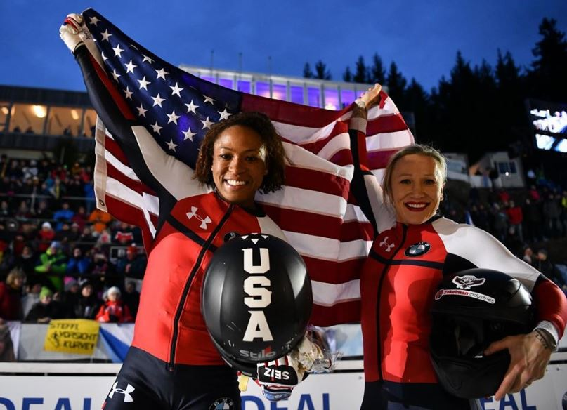 Lauren Gibbs, Kaillie Humphries, bobsleigh