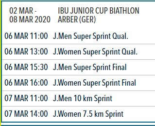 biathlon arber junior cup