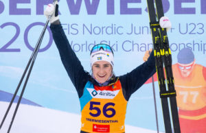 Ebba Andersson, ski de fond, Oberwiesenthal