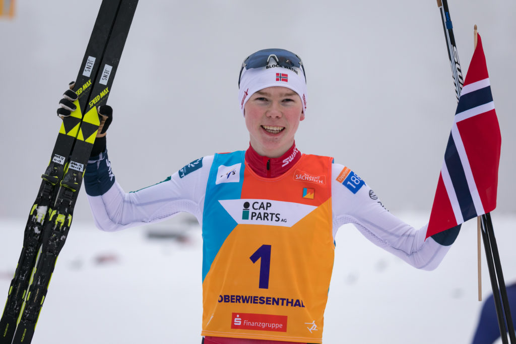 Jens Luraas Oftebro, combiné nordique, Oberwiesenthal