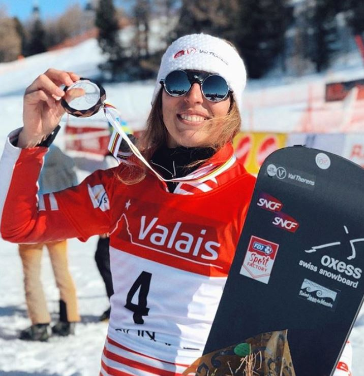 Chloé Trespeuch, snowboard, snowboardcross