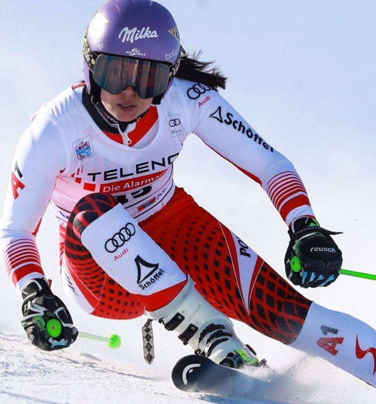 Anna Veith, ski alpin