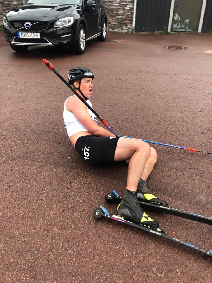 Emil Persson, rollerski