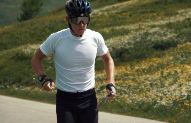 Matis Leray, Virtual Alliansloppet, ski-roues, rollerski
