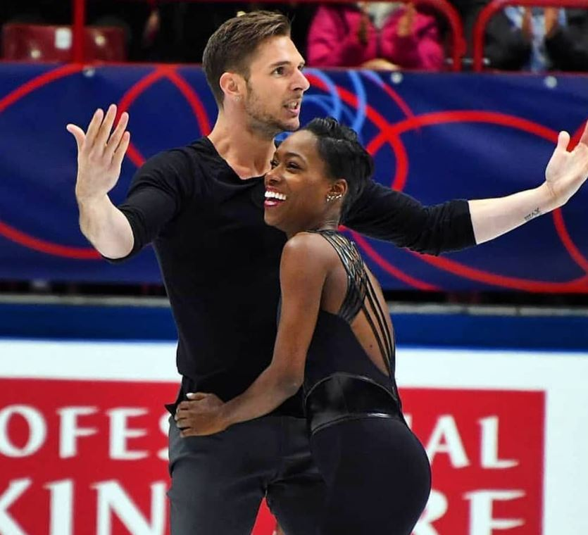 Morgan Cipres, patinage artistique, Vanessa James